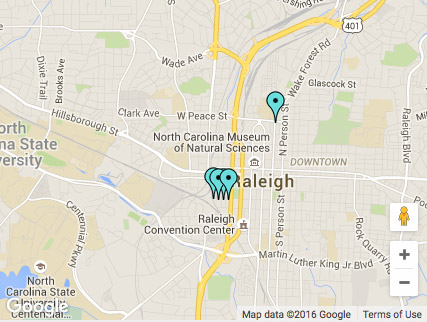 Map ReDesigning Raleigh Companies